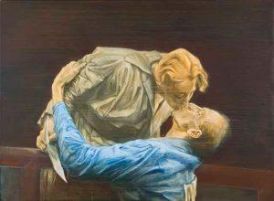 Die besten Jahre - Emil Zátopek küsst seine Frau nach dem Weltrekordlauf in Helsinki 1952