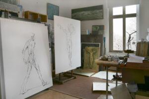 Blick ins Atelier 24-01-2021